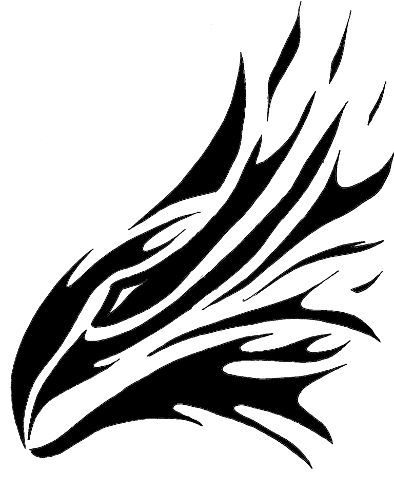Flaming Hawk Tattoo By TheNamelessTailled On DeviantArt
