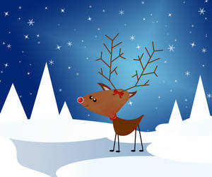 This is Rudolph say Hello