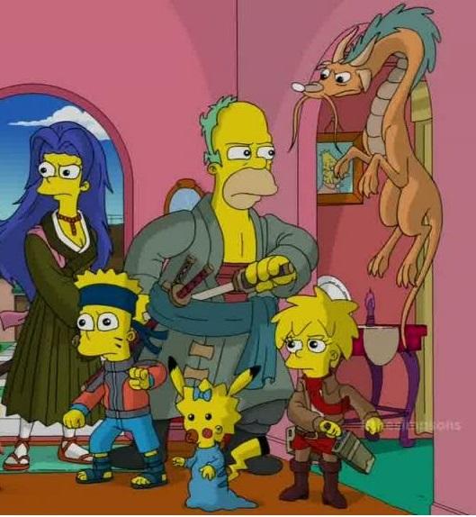 The Simpsons Screen Shot by Choujiro-Sasakibe