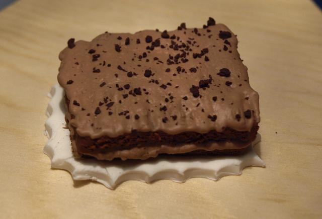 Fimo pie_Choco cake by serenainwonderland