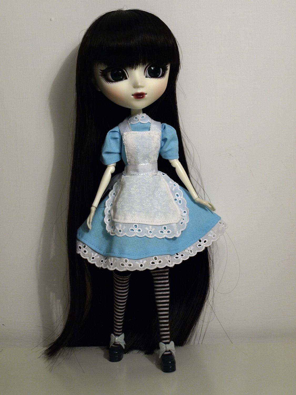 Mir with handmade dress by me by serenainwonderland