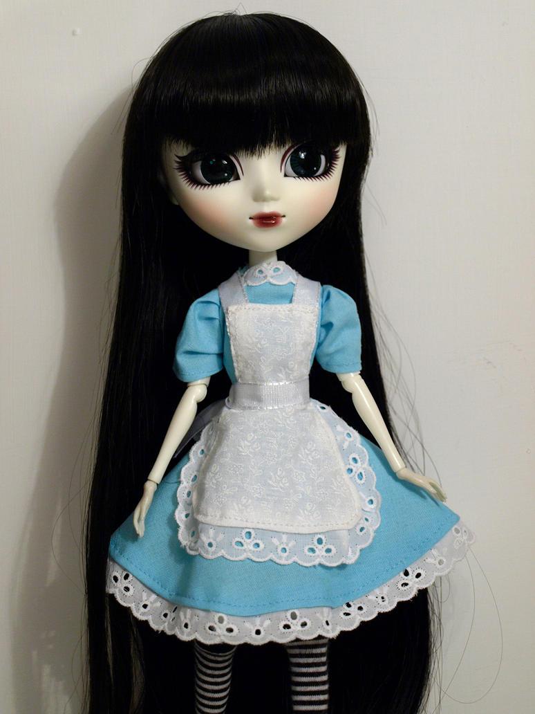 Mir with handmade dress by me2 by serenainwonderland