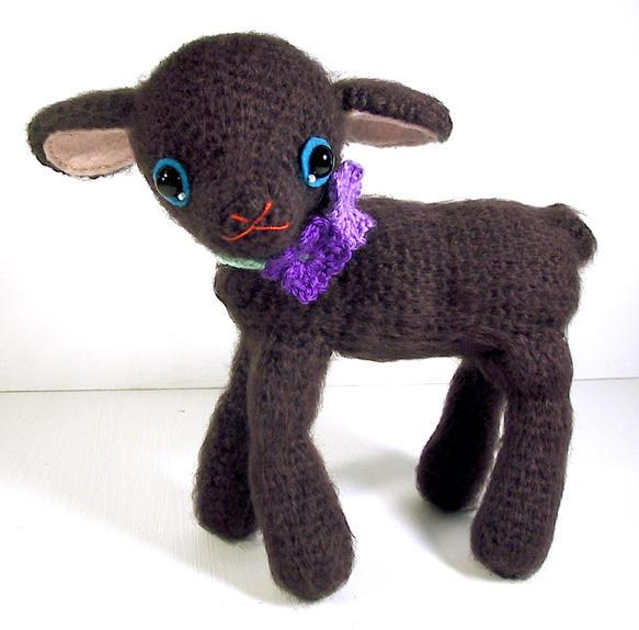 amigurumi black lamb by selkie on DeviantArt