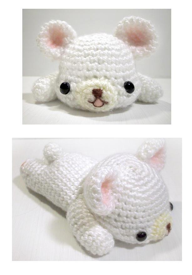Lazy Monday Bear - amigurumi by selkie on DeviantArt