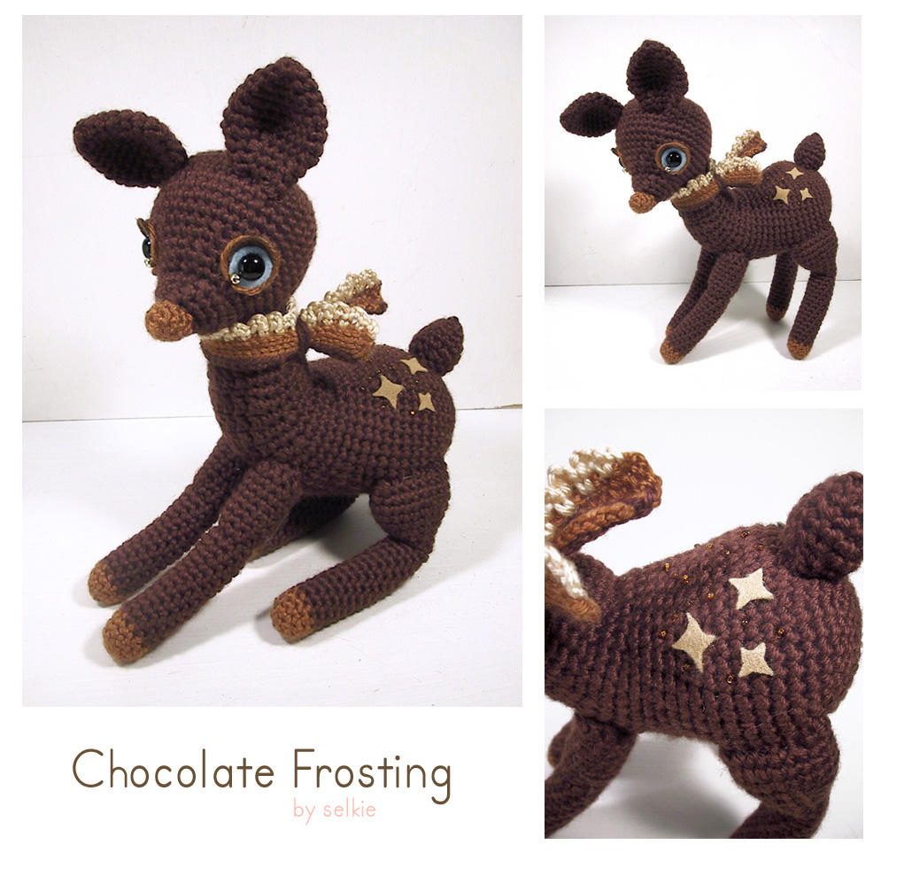 Chocolate Frosting - deer by selkie