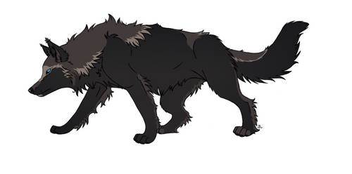 Kage Wolf Redesign by KageDavies