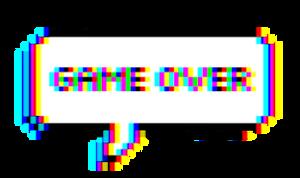 Game Over Glitch Decor (F2U)
