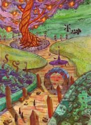 Tree Of Life Large by ArtOfSenti