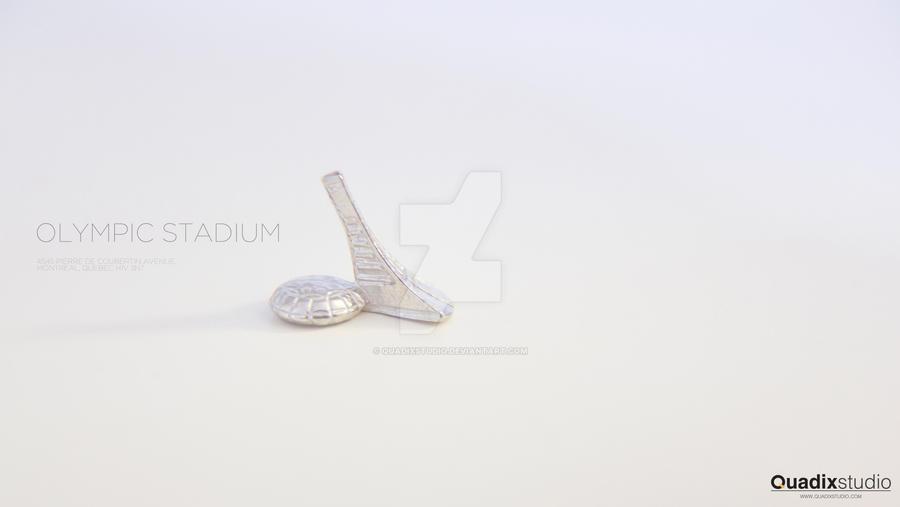 Olympic Stadium - Montreal by QuadixStudio