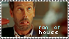 I'm House's fan stamp by ladyironia