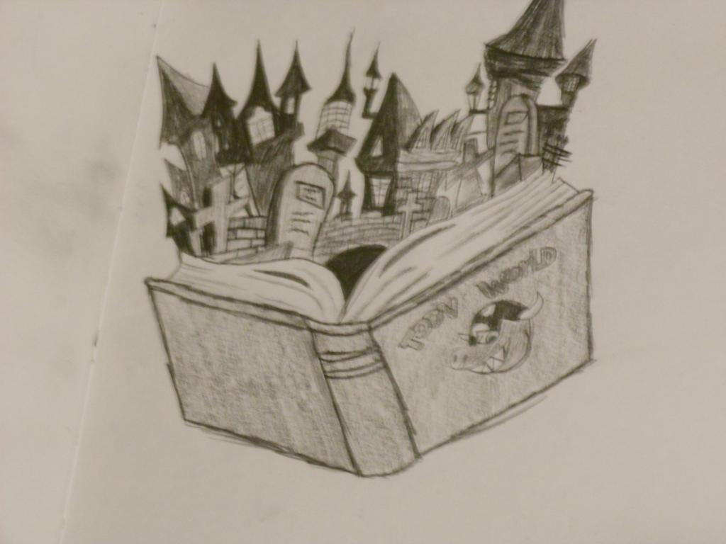 Toon World! by Darkshadowarts