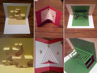 Weihnachtskarten Origami.Kirigami Explore Kirigami On Deviantart