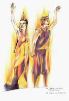 Die Tribute von Panem  - Katniss und Peeta by Henry-Jekyll
