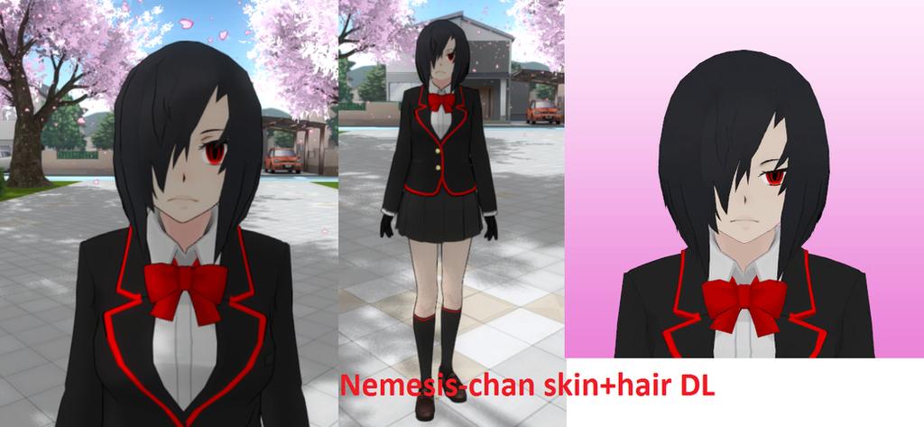 Nemesis-chan skin+hair DL by Franci-Bases