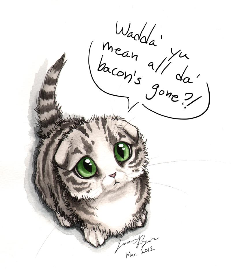 Kitty's Bacon by jessielp89