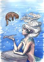 Mermaid's Downtime by jessielp89