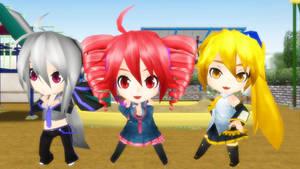 Stop...Chibi time! by Link-Pikachu