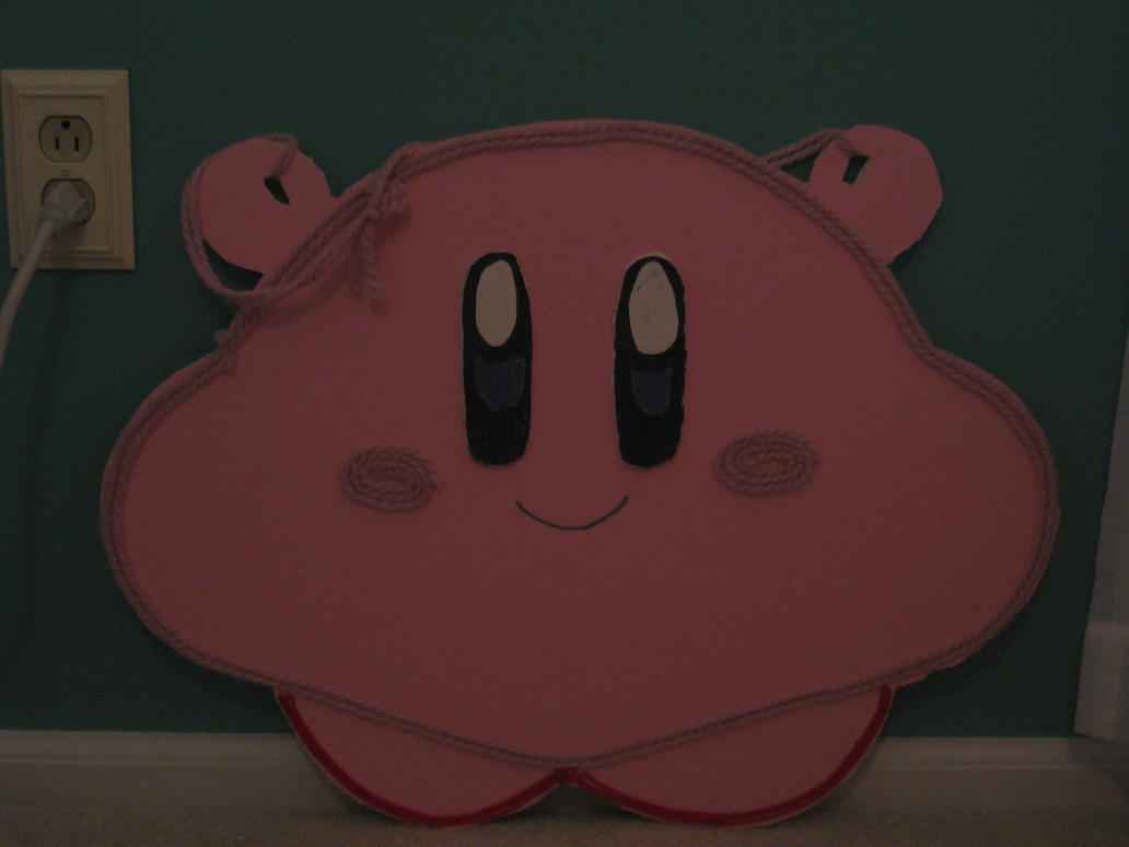 My old Kirby's Epic Yarn cosplay costume! by Link-Pikachu