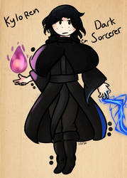 Kylo Ren - Dark Sorcerer
