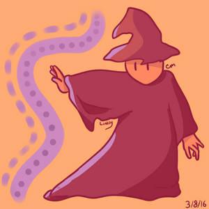 Wizard person