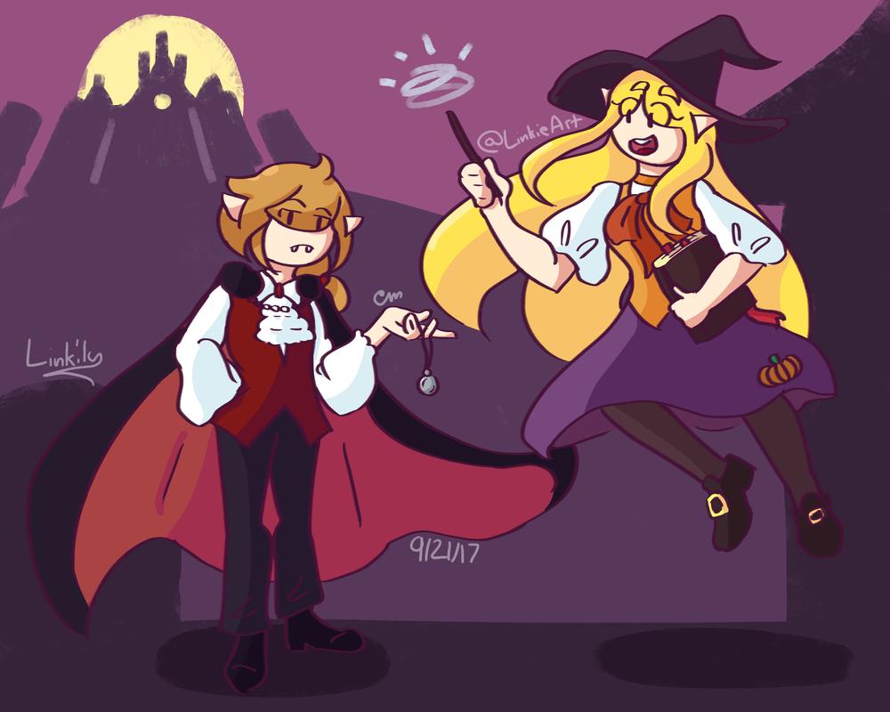 Happy Halloween from Hyrule! by Link-Pikachu
