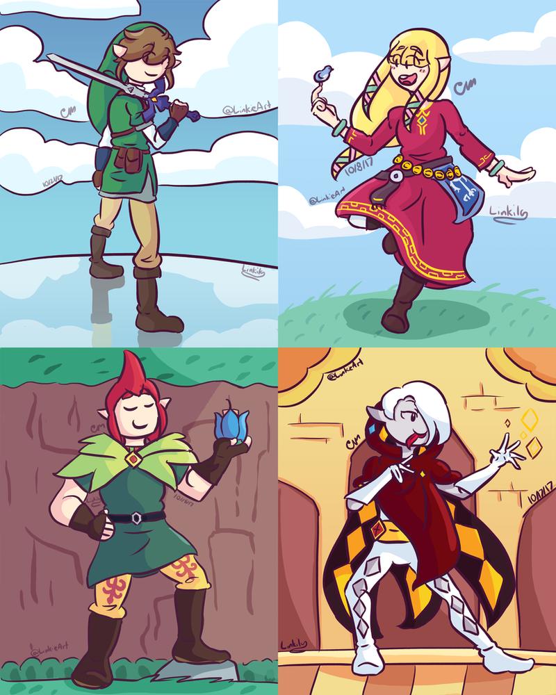Skyward Sword 6th Anniversary by Link-Pikachu