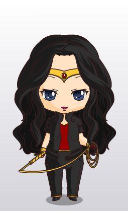 woderwoman comics chibi style by MAHGOL-DC-LOVER on DeviantArt