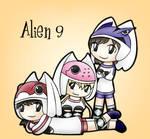 Alien 9 trio for Neco-ohno
