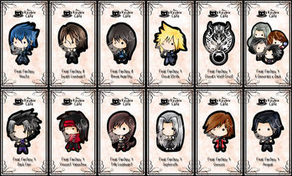 final fantasy keybies by silverei