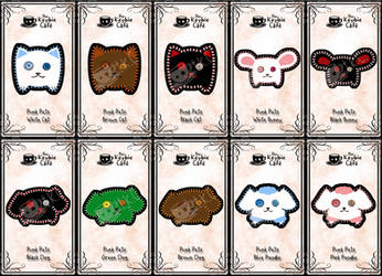 pillow pets - punk pets by silverei