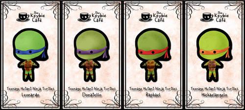 teenage mutant ninja turtle keybies