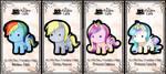 my little pony keybies by silverei