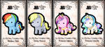 my little pony keybies by silverei