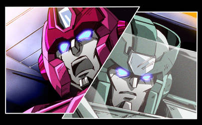 HotRod and Kup by EnigmaResolve