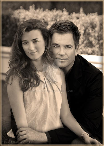 Tony and Ziva by Wennuhpen