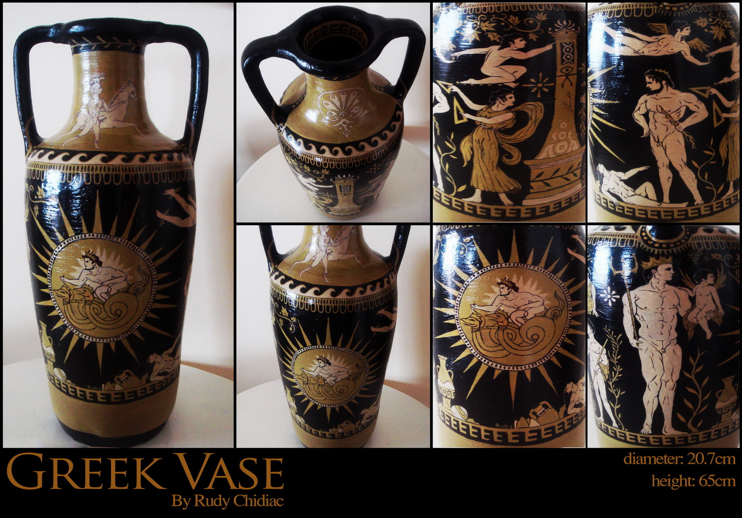 Greek Vase by SRudy