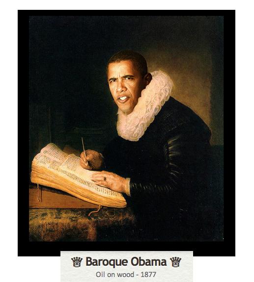 Baroque Obama by SRudy