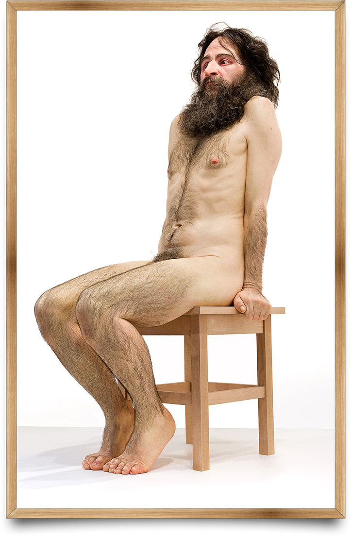 Wild Man by  Ron Mueck by SRudy