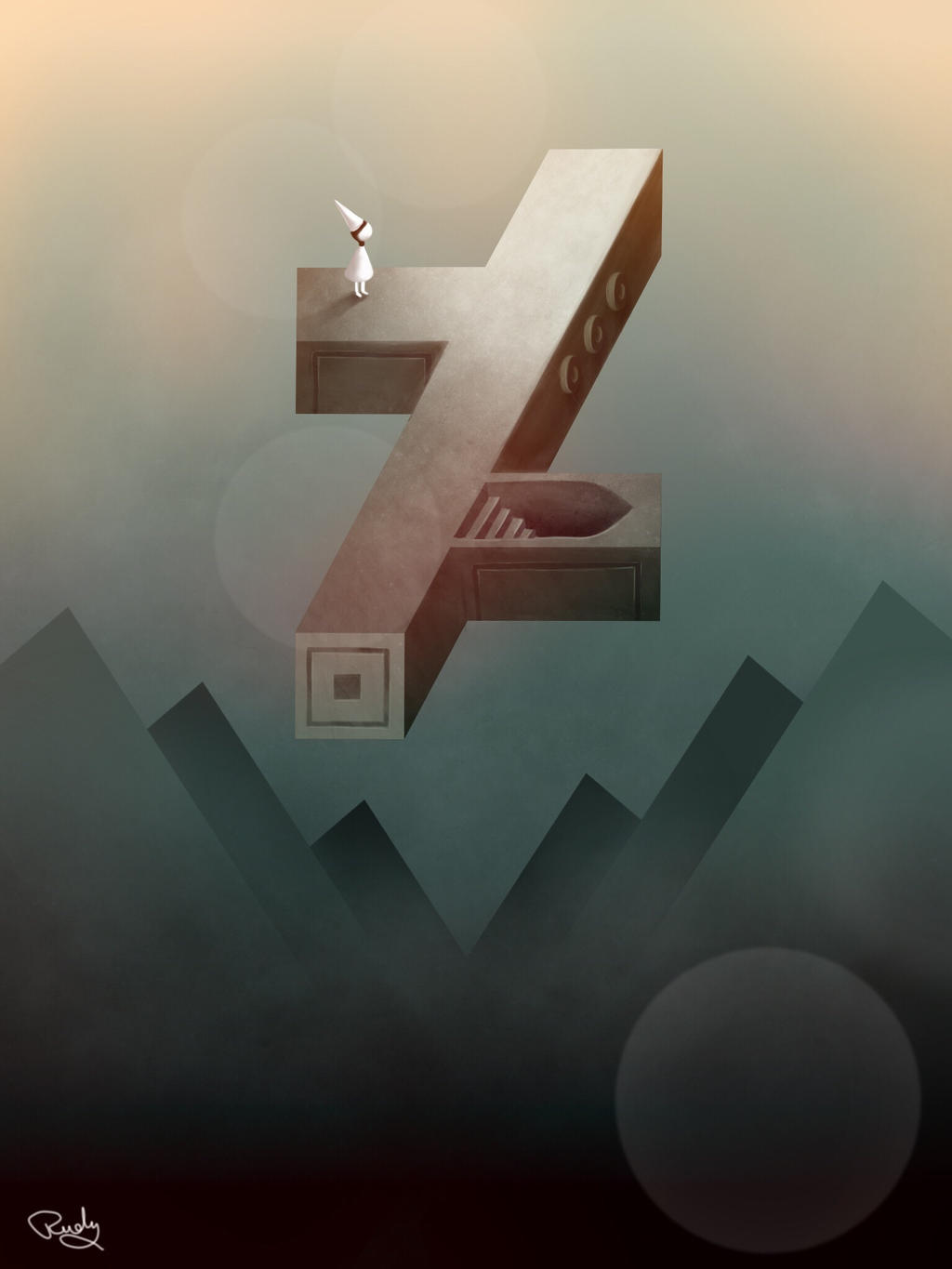 Deviantart meets Monument Valley by SRudy