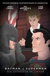 Batman v Superman by Pixeltender