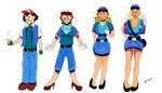 Ash to Bimbo Officer Jenny - Pokemon