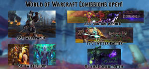 WoW Comissions Open New Prices! (DeviantID)
