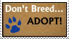 Adopt Stamp by RejectAll-American