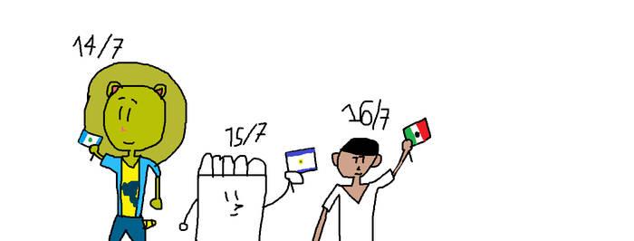 Guatemala, El Salvador y Mexico