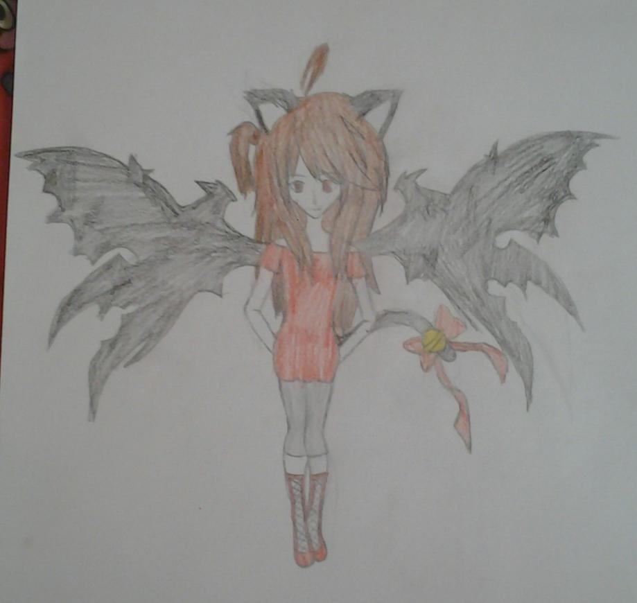 Hope The Vampire Cat. by proxyskull666