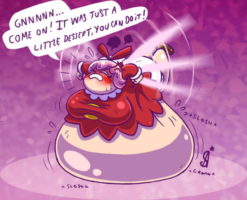 Ribbon - Little fairy with a fat belly