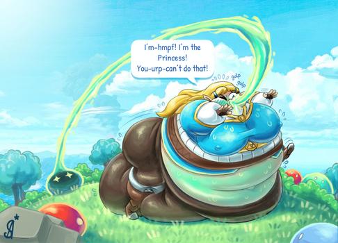 Zelda - Slime Princess