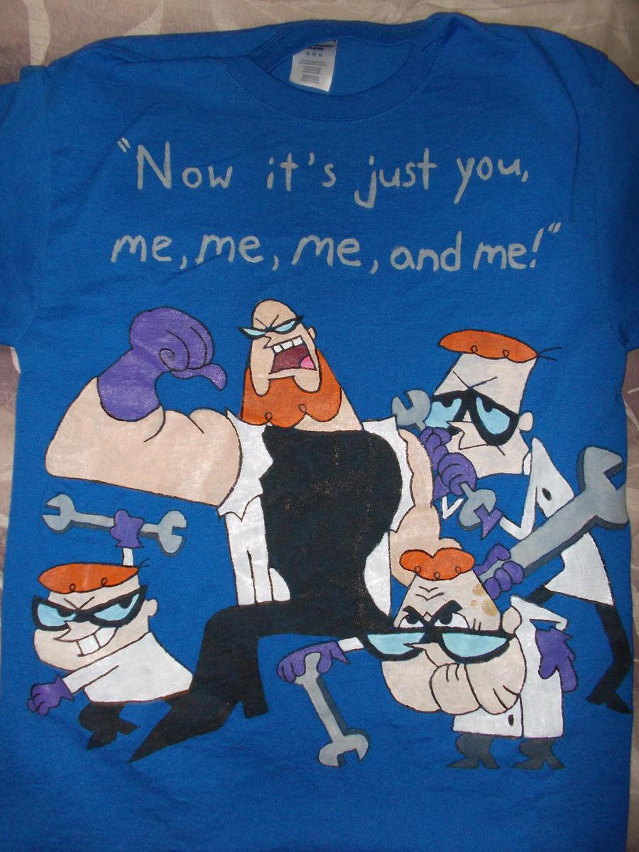 Shirt design lab -  Dexter S Lab Ego Trip Shirt Design By Terra Of The Forest