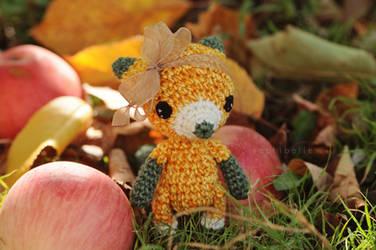 Saffy the Fox Pattern by Sophibelle
