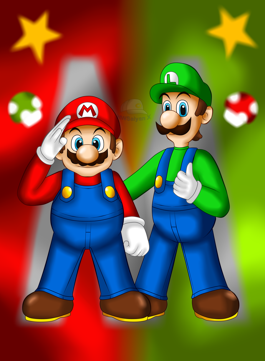 Heroes-The Mario Bros by NWSaiyanX
